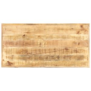 vidaXL Tischplatte Massivholz Mango 16 mm 120 x 60 cm