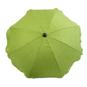 BAMBINIWELT Sonnenschirm für Kinderwagen Ø68cm UV-Schutz50+ Schirm Sonnensegel Sonnenschutz MELIERT hellgrün