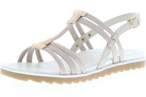 Vista Damen Sandaletten beige, Größe:40, Farbe:Beige