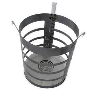 XXL Feuerkorb Waschmaschinentrommel für Feuertonne Feuerplatte Feuerschale #181