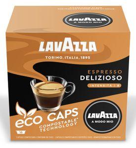 Lavazza A Modo Mio Eco Kapseln Espresso Delizioso 120g, 16 Kapseln