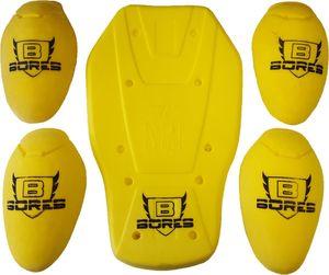 Bores Protektoren Set für Jacken (mit Rückenprotektor) CE