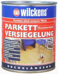 Wilckens 0,75l Parkett Versiegelung farblos Parkettlack Fußbodenlack Holzlack