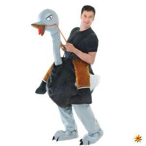 Kostüm Strauß, Trag Mich Huckepack