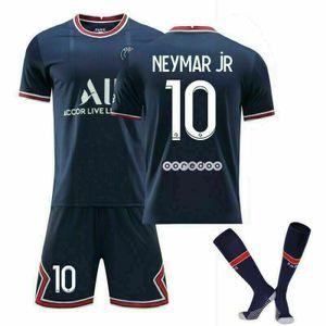 2021/22 Paris Saint-Germain Heim Trikot Neymar jR #10 Sportbekleidung-Sets, Größe: M