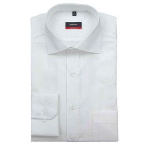 Eterna Modern Fit Hemd Langarm Popeline Weiß 1100/00/X187, Größe: 42