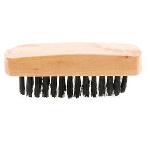 Borstenbürste Schuhpinsel Stiefel Holzgriff Schuhpflege