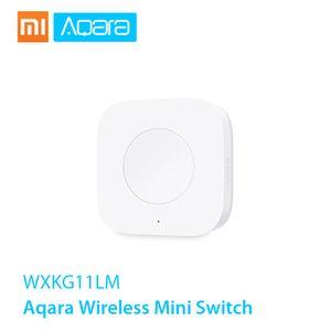 Xiaomi Aqara Funk-Minischalter ZigBee-System-Fernbedienungsschalter Verwendung mit Xiaomi Gateway Aqara Air Condictioner Partner