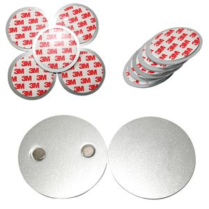 5er SET Rauchmelder Magnethalter - Selbstklebend für kleine und Mini Rauchmelder - 3M Klebepads mit Magnethalterung zur einfachen Befestigung/OHNE BOHREN UND SCHRAUBEN/PLUG & PLAY MONTAGE