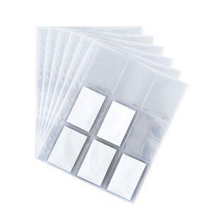 50x Sammelkarten-Hülle DIN A4-Format