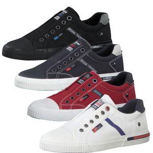 s.Oliver Herren Slipper Sneaker Halbschuhe 5-14603-26, Größe:42 EU, Farbe:Blau