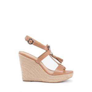 Michael Kors Damen Wedge Sandale Tan DARIEN - Größe: 10 US