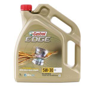 5 Liter CASTROL 5W-30 EDGE C3 ACEA C3 API SN API CF VW 505 01 dexos2 VW 502 00 MB 229.31 Renault RN0700 Renault RN0710 VW 505 00 MB 229.51