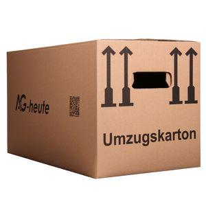 A&G-heute Umzugskartons 60 x 33 x 34cm Standard Faltkartons Umzugskisten 2-wellig doppelter Boden Profi Stück: 5
