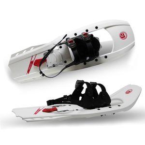 Schneeschuh Aluminium mit Ratschenbindung | Belastbar bis 90 kg | RUTSCHSICHER Schneeschuh Kunststoff