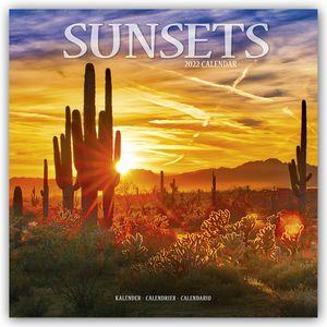 Sunsets - Sonnenuntergänge 2022 - 16-Monatskalender