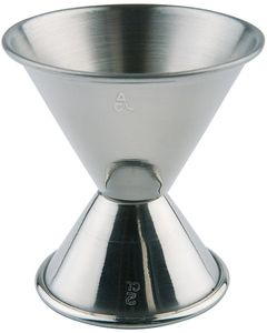 Assheuer und Pott Barmaß aus Edelstahl Durchmesser 60mm Höhe 60mm