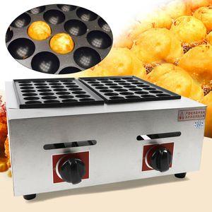 Takoyaki Maker Ebelskiver Maker Elektrische Takoyaki-Pfanne Gefuellte Pfannkuchenpfanne Munk Aebleskiver-Pfanne mit 56 Takoyaki-Loechern
