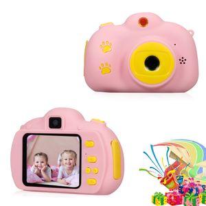 Kinderkamera Spielzeug 2.4in Kinder Selfie Kamera Kinderkamera Stossfeste wiederaufladbare 1080P Videokamera Beste Geburtstagsgeschenke fuer Jungen Maedchen