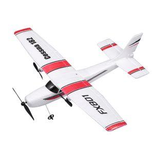 Fx801 flugzeug cessna 182 2,4 ghz 2ch rc flugzeug flugzeug outdoor flug toys Halloween-Geschenke für Kinder