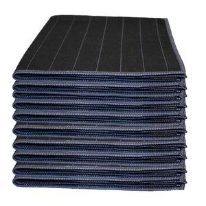 Microfaser Carbon Tuch Glaspoliertuch Streifenfrei Fenstertuch Mikrofasertuch Set 10 Teilig