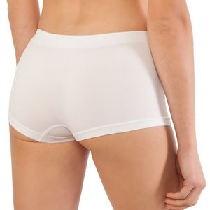 6er Pack Seamless Damen Panties Hipsters Boxershorts Perfekter Sitz, Größe:40/42, Farbe:Schwarz Set