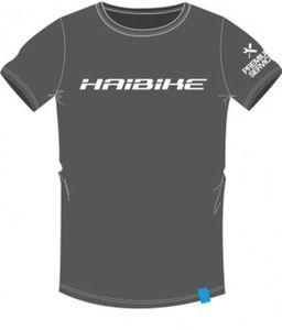 T-Shirt Haibike Work unisex grau, Größe M