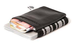 Space Wallet Mini Geldbörse Business Business Black
