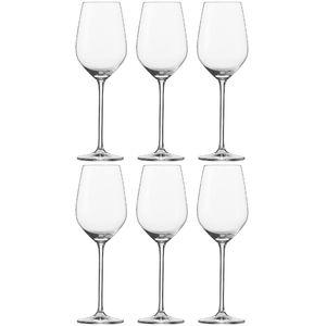 Schott Zwiesel 112492 Fortissimo Weissweinkelch 420 ml, Tritan-Kristallglas, klar (6 Stück)