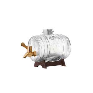 KILNER | Getränkespender Fass mit Zapfhahn, 1 Liter: 1 Liter / kupfer