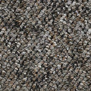 Teppichboden, Auslegware, Meterware, 400 cm x 650 cm, graubraun, Schlinge