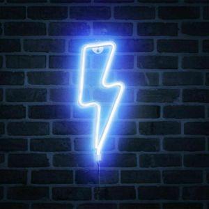Lightning Neonlicht Modellierlampe Laterne kreative Raumdekoration Hängelampe Mädchen Herz Schlafzimmer Layout ins LED blinkendes Nachtlicht Wanddekoration