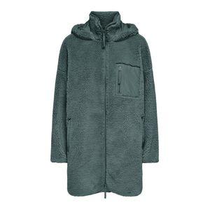 Only Jacke lang Damen ONLSASCHA SHERPA JACKET C Größe XL, Farbe: 180039 Balsam Green