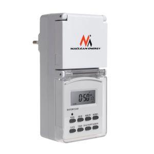 Digitale Zeitschaltuhr Wochen Outdoor Timer Außen Zeitschaltuhr IP44 MCE08G
