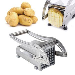 WYCTIN Edelstahl Pommesschneider Kartoffelschneider Pommes Frites Schneider