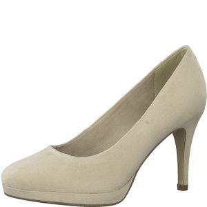 Tamaris Damen Schuhe Pumps Plateau 1-22403-25, Größe:41 EU, Farbe:Beige