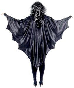 Schwarze Vampirflügel Fledermaus für Erwachsene
