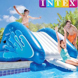 Intex 58849EP, Aufblasbare Kinderpool Wasserrutsche, 333 x 206 x 117 cm, Maximale Kapazität: 80 kg