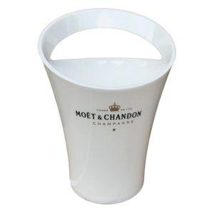 Moët Chandon Champagner Kühler weiß gold Flaschenkühler Eisbox Weinkühler Luxus