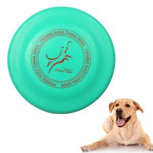 Hundefrisbee Frisbee aus Kautschuk Intelligenzspielzeug Naturkautschuk Ø 23cm Wasserspielzeug Schwimmspielzeug für kleine und mittelgroße Hunde