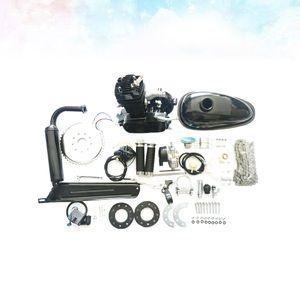 49cc 60cc 80CC 2-Takt Fahrrad Benzin Motorisierte Gas Motor Motor Kit (Schwarz)
