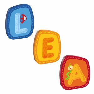 HABA Holzbuchstaben, Name Lea, Buchstaben, Türschild, Wand, Dekoration, Kinderzimmer, Kind, Baby