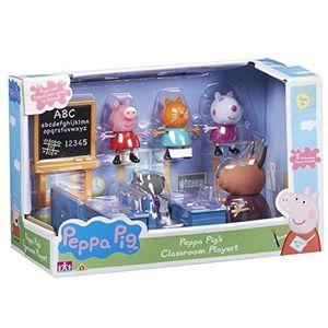 Character World Peppa Pig Vorschule Klassenzimmer 5 Figuren Spielset CW05033