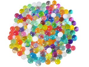 Hydroperlen Aquaperlen Wasserperlen Gelkugeln Gelperlen Dekoperlen Deko 3659