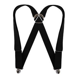 Biclip Hosenträger schwarz, Körpergröße:bis 1.80 m - 120 cm