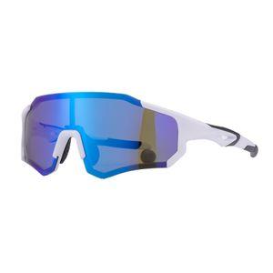 ROCKBROS Radbrille Sport Polarisierte Brille Fahrradbrille Sonnenbrille weiß
