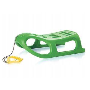 Lenkschlitten Schlitten Kinderschlitten Frostbeständigkeit Little Seal grün