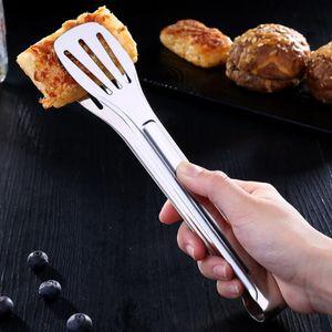 Mehrzweck Edelstahl Grillzange Küchenzange BBQ Zange, 24x4.5cm