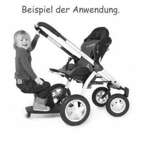 Kleine Dreumes Board + Sitz Kid-Sit rot 17.