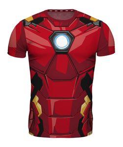Marvel TShirt Allover Print Iron Man L